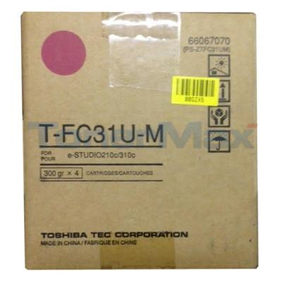 TOSHIBA E STUDIO 210 310 TONER MAGENTA